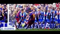 10 bàn thắng đẹp nhất của Lionel Messi mùa giải 2015/2016