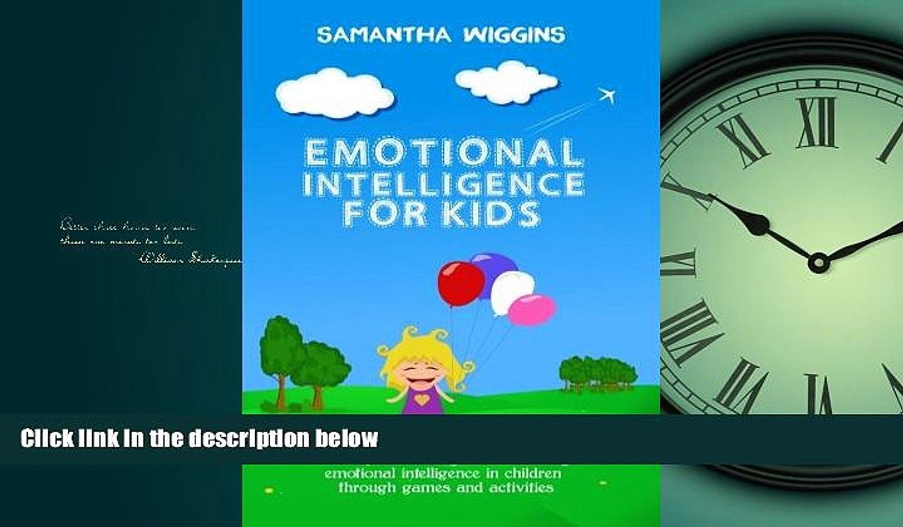 Online eBook Emotional Intelligence for Kids: EQ Activities: Emotional Intelligence Activities