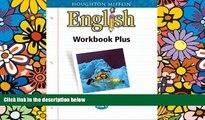 Must Have PDF  Houghton Mifflin English: Workbook Plus Consumable Grade 8  Best Seller Books Best