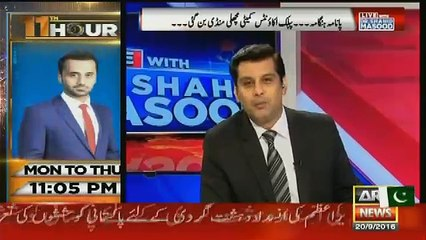 Live With Dr Shahid Masood – 20th September 2016