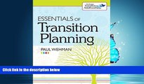 Popular Book Essentials of Transition Planning