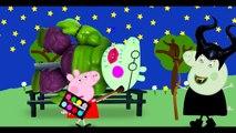 peppa pig español! doing makeup for a halk big pig / finger family nursery Rhymes Lyrics Parody