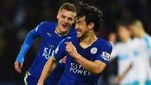 Leicester 1-0Chelsea Goal Okazaki 20.09.2016 (Football League Cup)