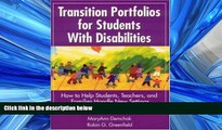 Popular Book Transition Portfolios for Students With Disabilities: How to Help Students, Teachers,