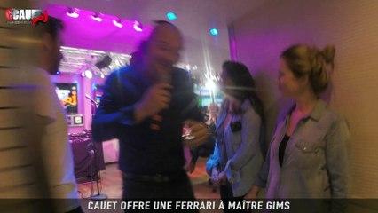 Cauet offre une ferrari a Maître Gims - C'Cauet sur NRJ