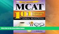 Big Deals  Examkrackers 101 Passages in MCAT Verbal Reasoning  Free Full Read Best Seller