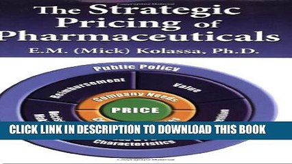 [PDF] The Strategic Pricing of Pharmaceuticals Full Colection