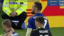 Marcin Wasilewski Red Card HD - Leicester City 2-2 Chelsea - England - League Cup 20.09.2016 HD