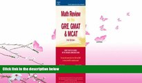 different   Math Review: GRE, GMAT, MCAT 2nd ed (Peterson s GRE/GMAT Math Review)