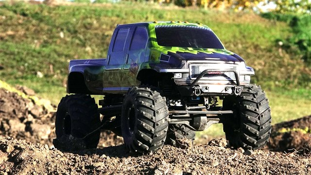Testing the 2016 Tough Truck Rally Course (1/10th Scale) Radio Controlled Truck - 4x4 Off Road Racing