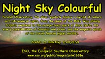 Night Sky Colourful