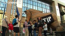 У Європі протестують проти вільної торгівлі зі США