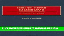[PDF] Hall of Fame Museums: A Reference Guide (Organization Sciences) Popular Online
