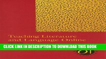 New Book Teaching Literature and Language Online (Options for Teaching (Paperback))