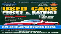 [PDF] Edmund s Used Cars: Prices   Ratings : 1998 (Edmundscom Used Cars and Trucks Buyer s Guide)
