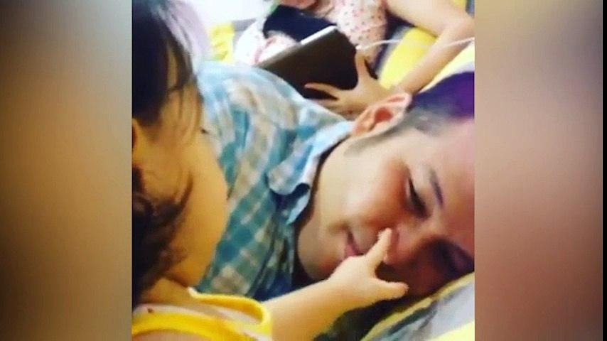Cận cảnh con gái đáng yêu của Quang Huy và Phạm Quỳnh Anh | Godialy.com