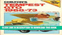 [PDF] Chilton s Repair and Tune-Up Guide Tempest Gto 1968-73 Popular Online