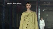 La marque Joseph défile à la Fashion Week de Londres