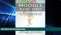 Must Have PDF  Moodle Addons: Extending your Moodle site with Community Addons  Free Full Read