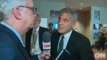 George Clooney apprend le divorce de Brad Pitt par un journaliste