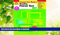 READ  Reading Paired Text, Grade 5 (Reading Paired Text: Common Core Mastery) FULL ONLINE