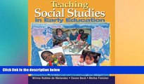 Big Deals  Teaching Social Studies in Early Education (Early Childhood Education)  Best Seller