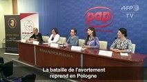 Pologne: débat sur l'interdiction totale de l'avortement