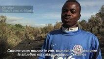 Lesbos: les migrants en colère après l'incendie du camp de Moria