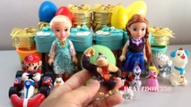 PLAY DOH SURPRISE EGGS with Surprise Toys,Mario Bros,Disney,Dalmatians,Videos for Kids, Egg Surprise Toys for Kids