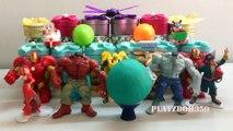 Pirates of the Caribbean, Captain James Bartholomew Hook,PLAY DOH SURPRISE EGGS with Surprise Toys,Hulk,Marvel Avengers