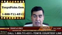 UNLV Rebels vs. Idaho Vandals Free Pick Prediction NCAA College Football Odds Preview 9/24/2016