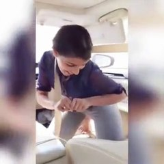 Beautiful Girl Dance With Frinds - Mere Rashke Qamar - Full Remix Qawali - HD Video