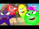Kids TV Nursery Rhymes - Five Scary Spiders | Spider Rhymes | Nursery Rhymes
