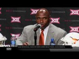 Big 12 Media Days: Charile Strong, University of Texas
