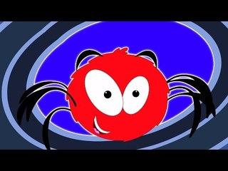 Incy Wincy Araña | canciones de cuna para niños | Incy Wincy Spider Rhyme