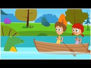 Rema rema Rema tu bote| fila de la fila su barco | la rima de los niños | Español