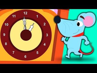 Hickory Dickory Dock   filastrocche   bambini canzone