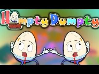 Humpty Dumpty Rhyme   Tombolo Dondolo   Unto Dunto   Cartoon per i bambini   Popolare Filastrocche