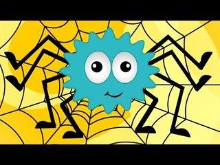 Incy Wincy Araña | Canciones infantiles | videos educativos para niños pequeños