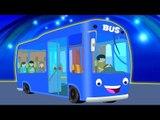 ruedas de los autobuses | rima | niños de canciones | rima bebé | niños de video | Wheels On The Bus