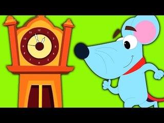 Hickory Dickory | Мультфильм для детей | Популярные потешки