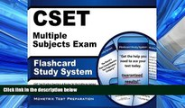 Choose Book CSET Multiple Subjects Exam Flashcard Study System: CSET Test Practice Questions