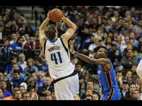 DIRK NOWITZKI SCORES 32 AS MAVERICKS BEAT OKC IN OVERTIME 128-119