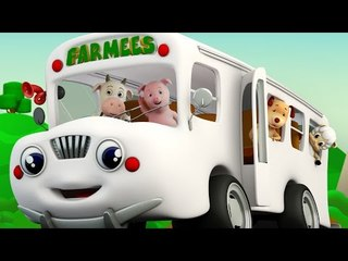 The Wheels On The Bus | Nursery Rhymes Compilation | Kids Songs