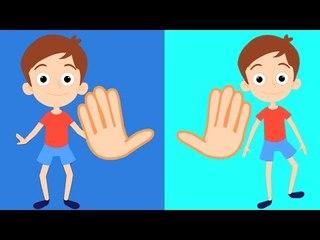 Kopf, Schultern, Knie und Zehen Kinderreim für Kinder   Lied für Kinder in Deutsche