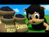 Baa Baa Black Sheep | 3D Rhymes | Nursery Songs For Children