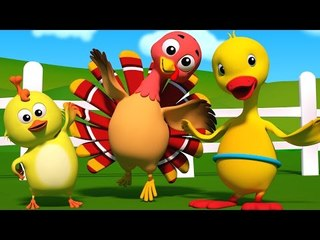 Hokey Pokey | 3D Nursery Rhymes For Baby | Songs For Kids And Childrens
