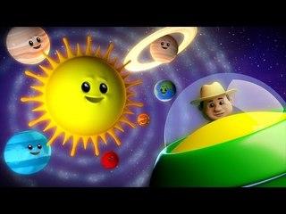 the planets song | nursery rhyme farmees | kids songs | 3d rhymes