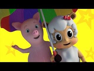 Rain Rain Go Away | Farmees | Nursery Rhymes | Kids Songs