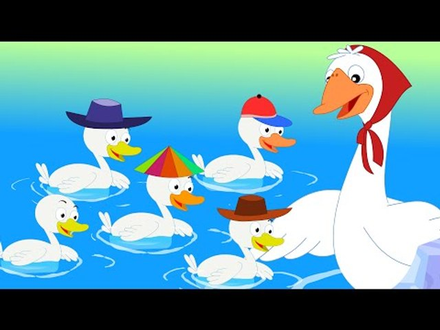 Five Little Ducks Went Swimming One Day | Nursery Rhymes | Baby Songs